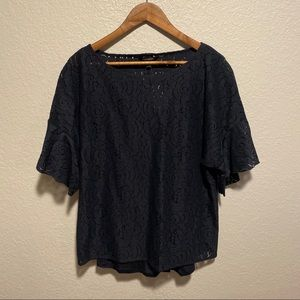 NWT Banana Republic Lace Blouse with Cami